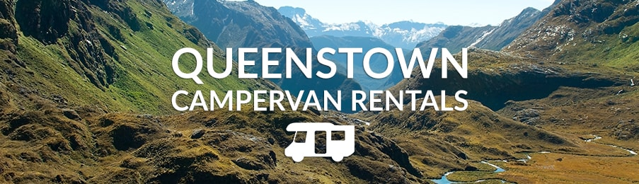 Queenstown Campervan Rentals - View of the Remarkables mountain range