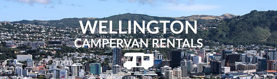 Campervan Hire Wellington - Compare Motorhome Deals