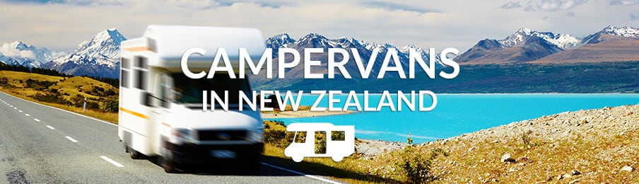 Campervans in New Zealand