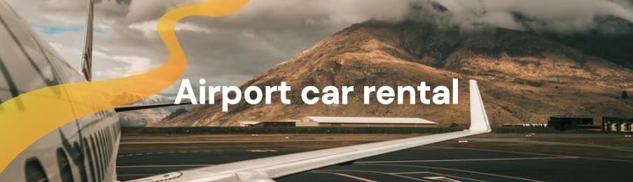 Airport car rental