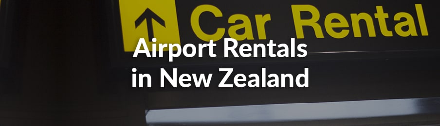 airport rentals in New Zealand