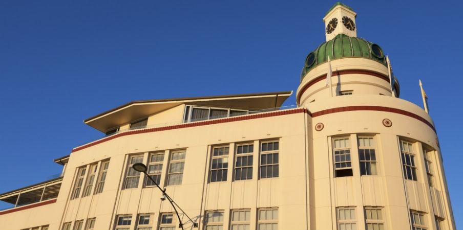 art deco architecture of napier nz