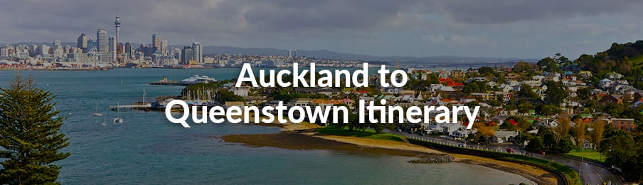 auckland to queenstown itinerary