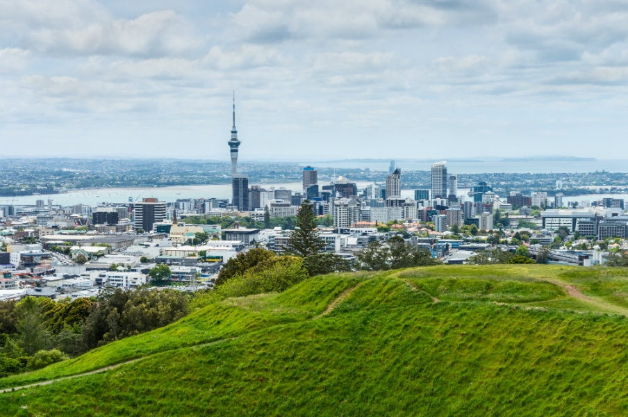 Auckland view from Eden Hill