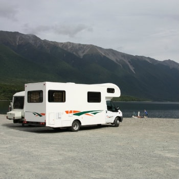 Campervan Rental in Nelson Lakes National Park