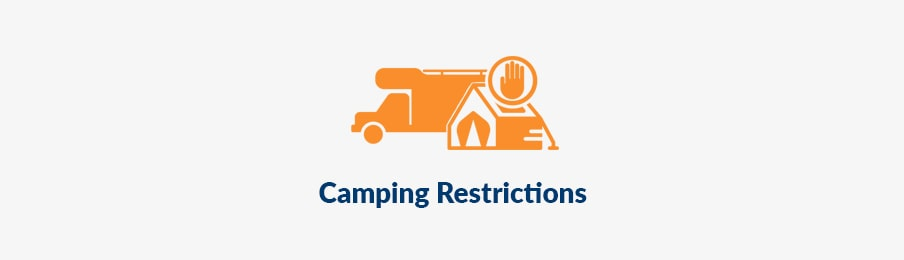 camping restrictions