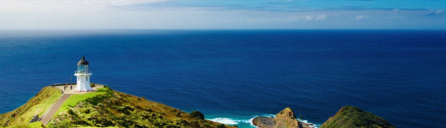 Cape Reinga Lighthouse in NZ