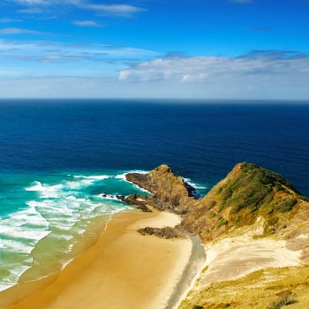 cape reinga north edge of nz