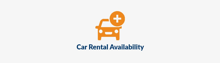 car rental availability