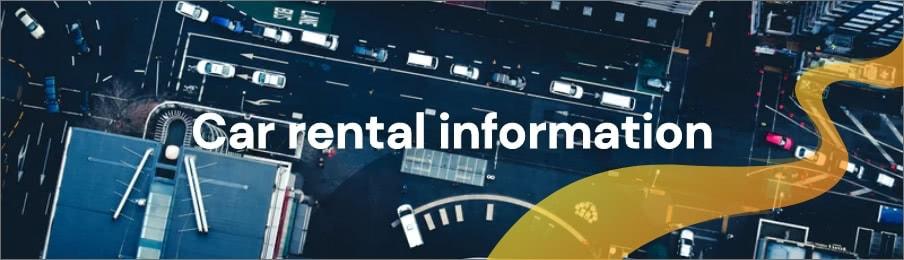 Car rental information