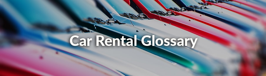 car rental glossary new zealand