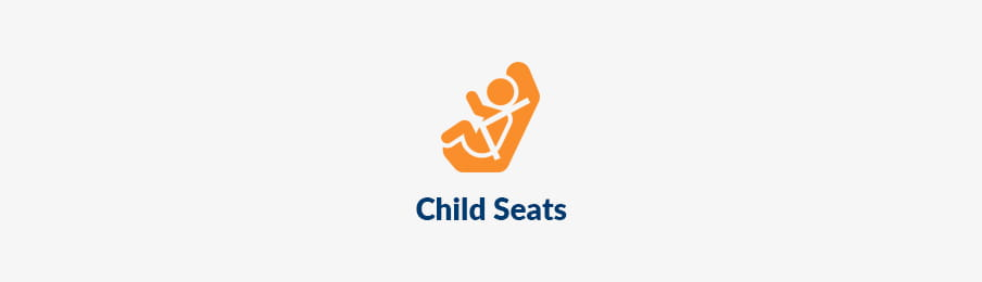 Child seats for hire car in NZ banner