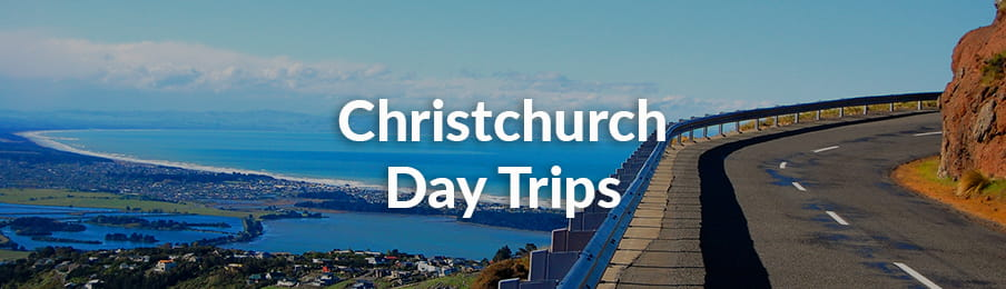 Christchurch Day Trips banner