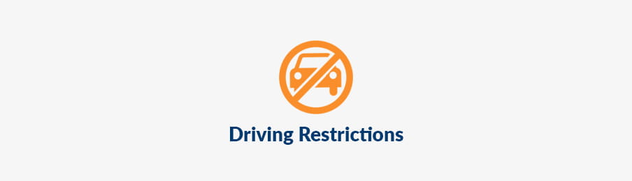Driving restrictions NZ Guide banner