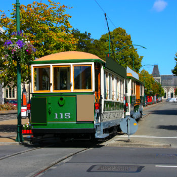 Explore Christchurch by riding the famous tram