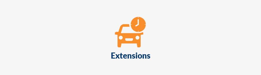 extending rental car booking in NZ