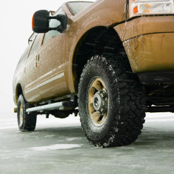 Four wheel drive for winter driving
