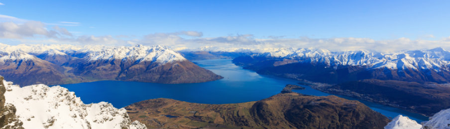 Frankton and Lake Wakatipu Queenstown