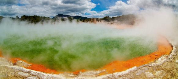 Geothermal spring in Rotorua