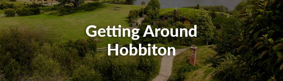 getting around hobbiton