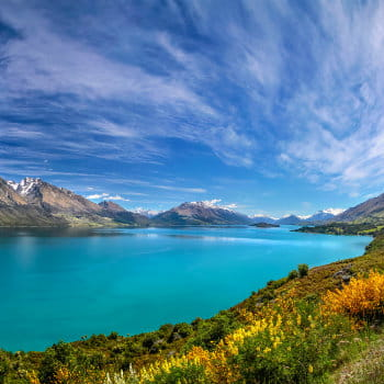 Lake Wakatipu, Otago, South Island, NZ