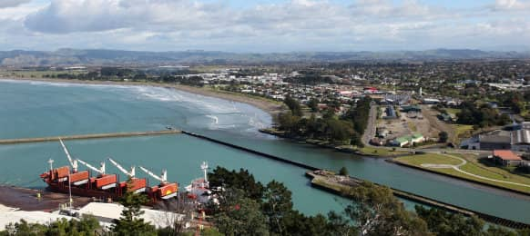 amazing view at the beautiful gisborne