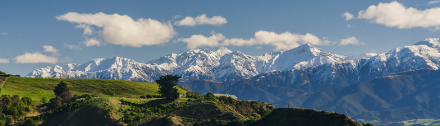 Majestic Mountains of Kaikoura, New Zealand