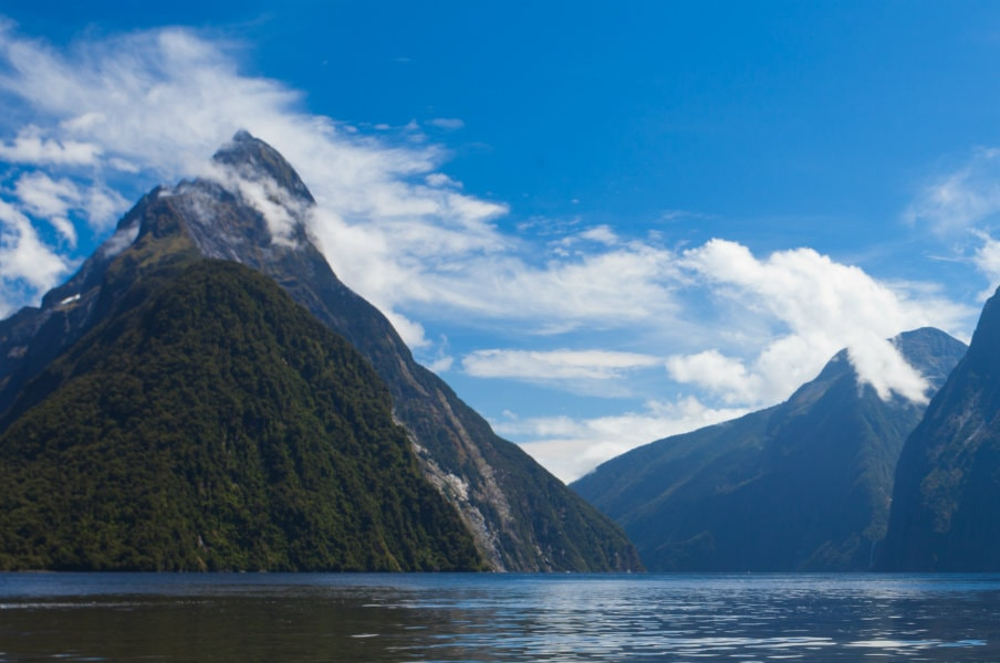 Milford Sound at the end of Milford Road