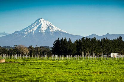 Mount taranaki at new playmouth