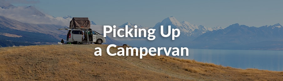 Pick Up a Campervan in New Zealand banner