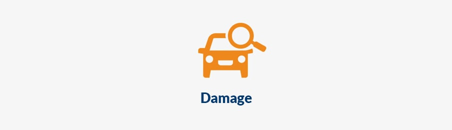 checking car hire damage in NZ
