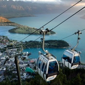 Queenstown sky cables