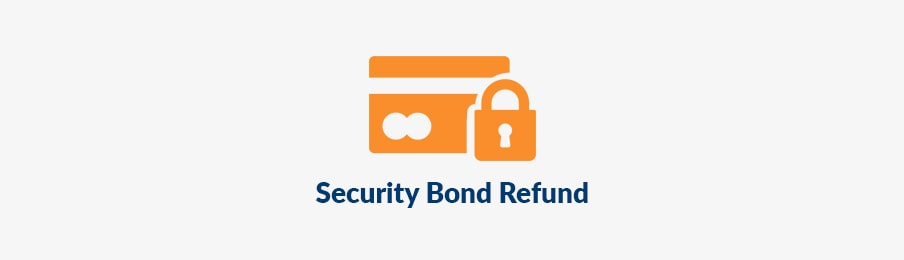 security bond refund NZ