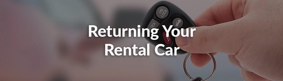 Returning Your Rental Car NZ