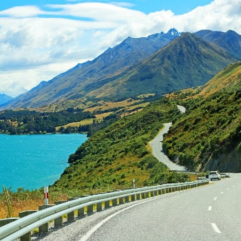 scenic road to glenorchy
