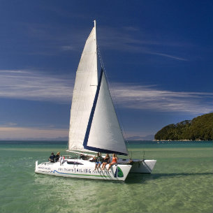 scenic and quiet sailing on abel tasman