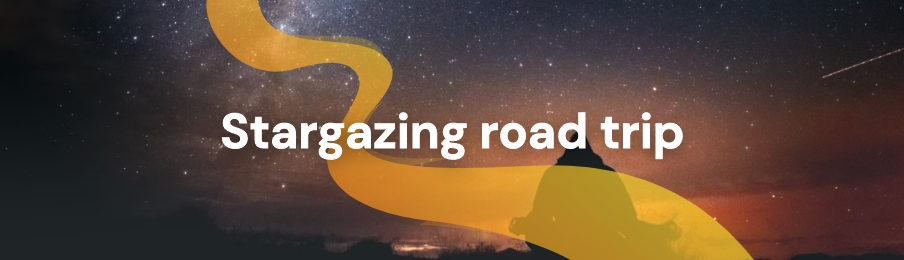 Stargazing road trip