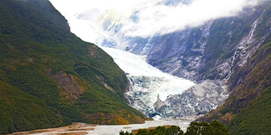 stunning franz josef glacier nz