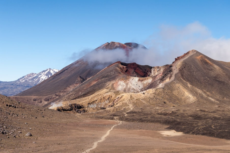 Tongariro landscape, New Zealand