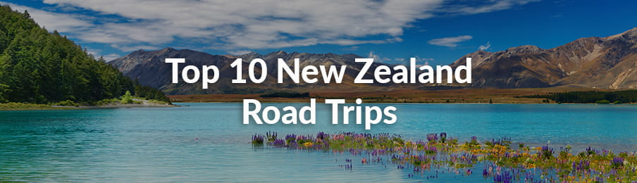 Top 10 New Zealand road trips banner