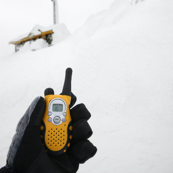 using two way radio