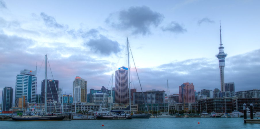 viaduct basin in auckland
