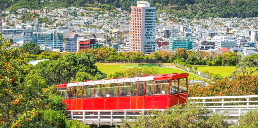 wellington cable car landmark nz