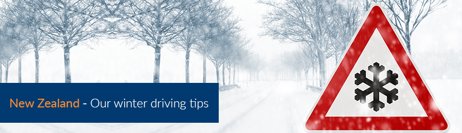 Safe winter driving tips in New Zealand