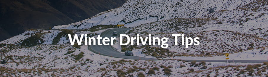 Winter Driving Tips in New Zealand guide banner